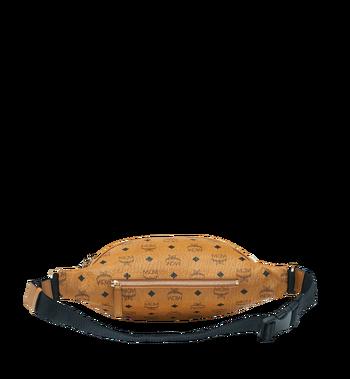 MCM Fursten Belt Bag in Visetos Cognac MUZ9SFI21CO001 Alternate View 4