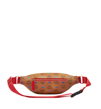 MCM Stark Belt Bag in Skyoptic Visetos Alternate View 4