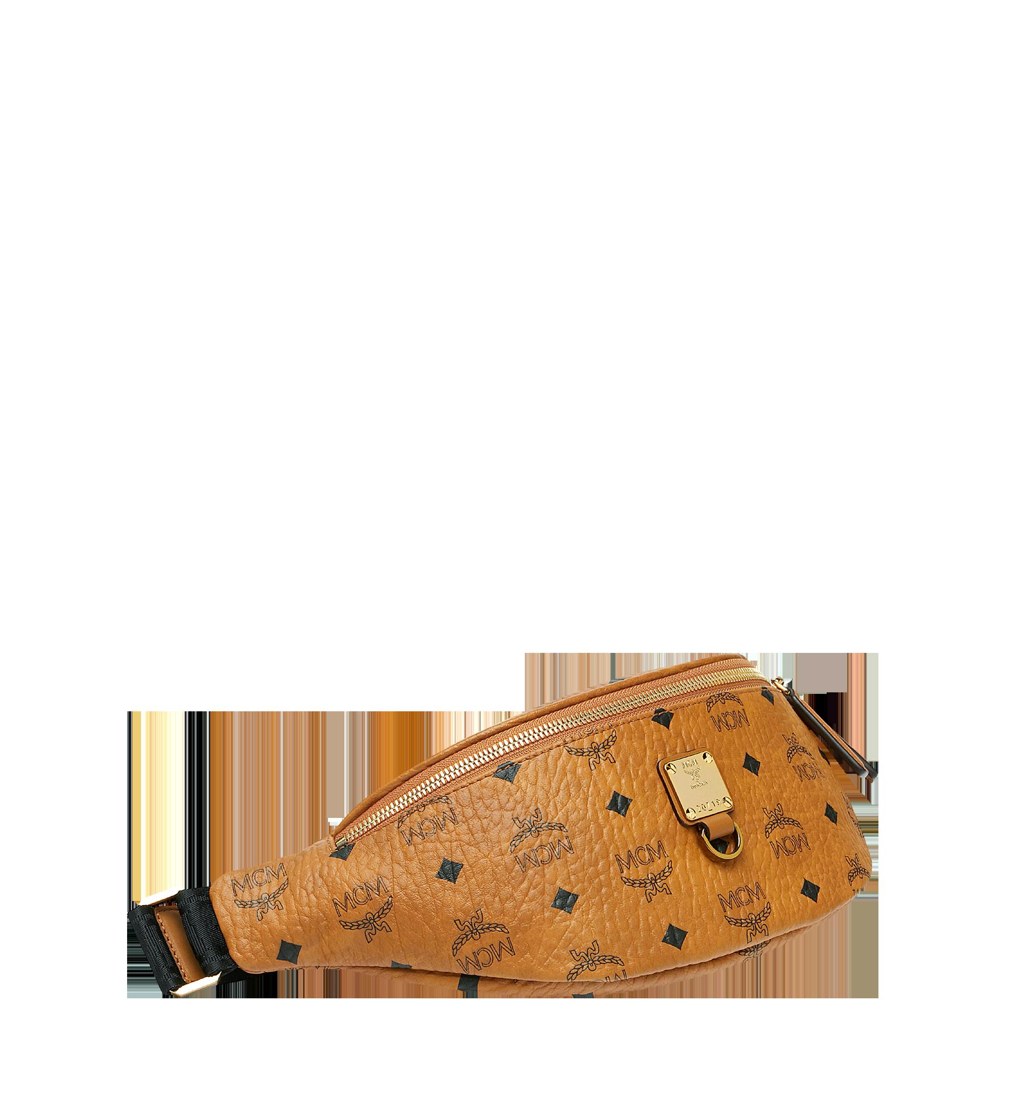Small Fursten Gürteltasche in Visetos Cognac | MCM® DE