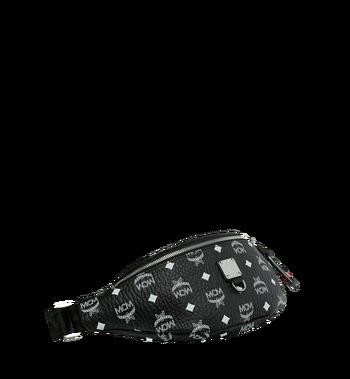MCM Fursten Belt Bag in White Logo Visetos Alternate View 2