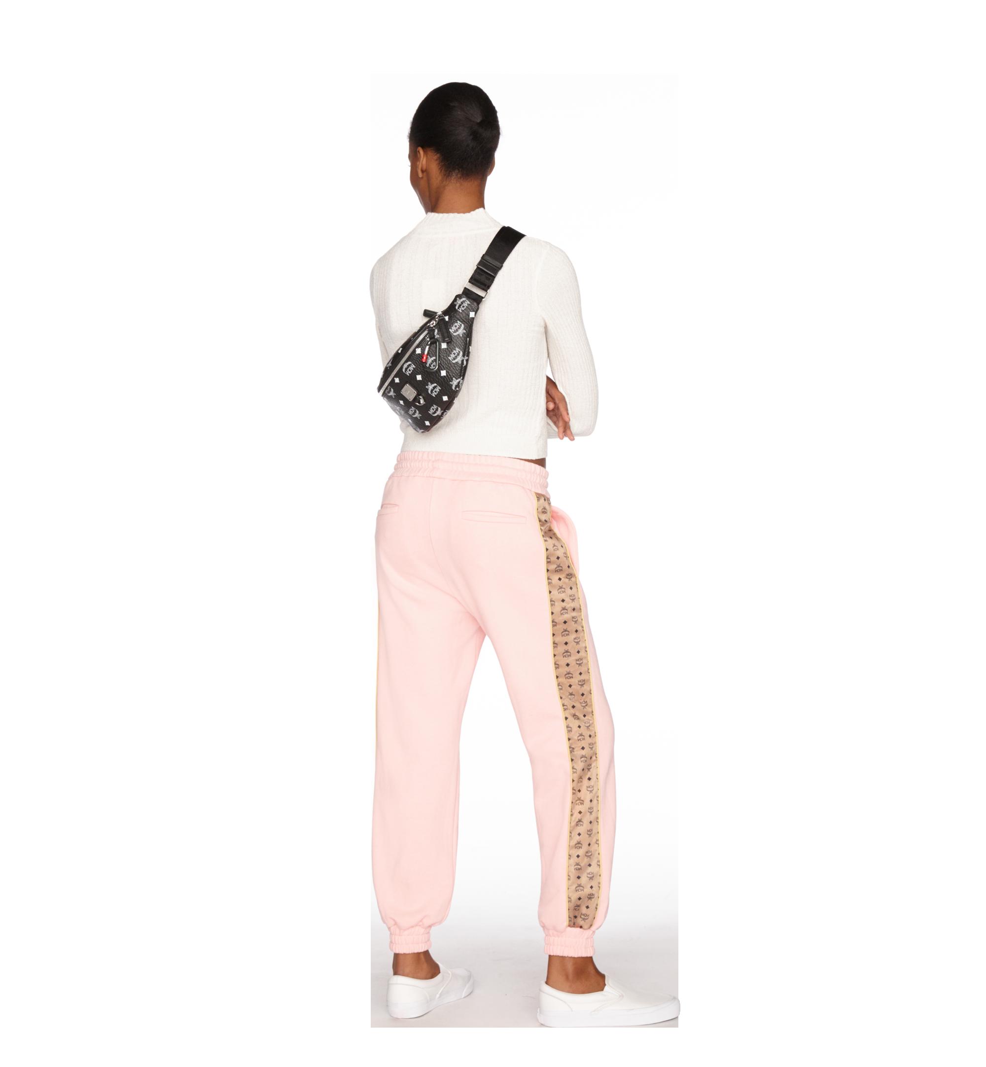 Small Fursten Gürteltasche mit Visetos Logo in Weiss White