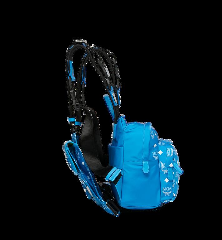 MCM 루프트 컬렉션 포 피티워모 체스트 리그 백팩 Blue MUZ9SNX90HI001 Alternate View 3