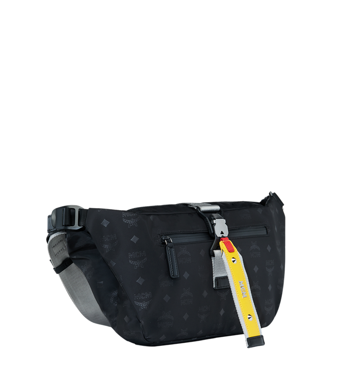 MCM Resnick Belt Bag in Monogram Nylon AlternateView2