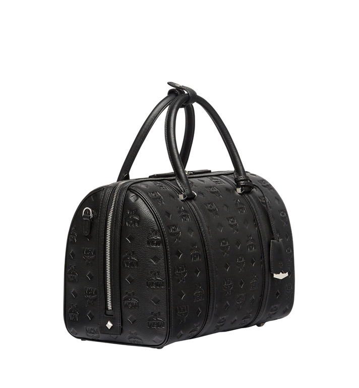 MCM Essential Boston in Monogram Leather Alternate View 2