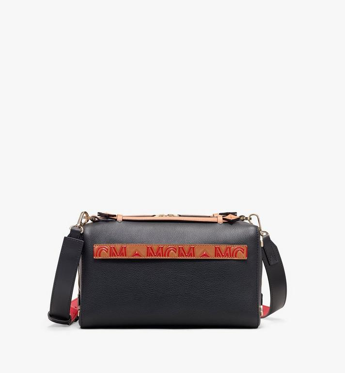MCM Milano Boston Bag in Calfskin Leather Alternate View