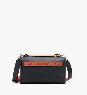 MCM Milano Boston Bag in Calfskin Leather Alternate View