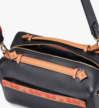 MCM Milano Boston Bag in Calfskin Leather Alternate View 4