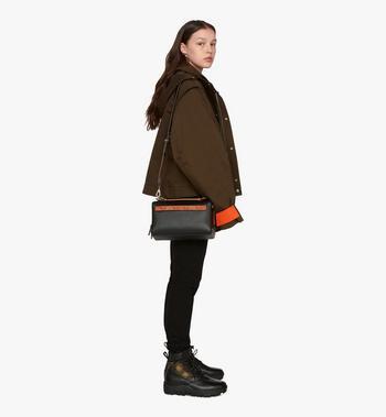 MCM Milano Boston Bag in Calfskin Leather Alternate View 5