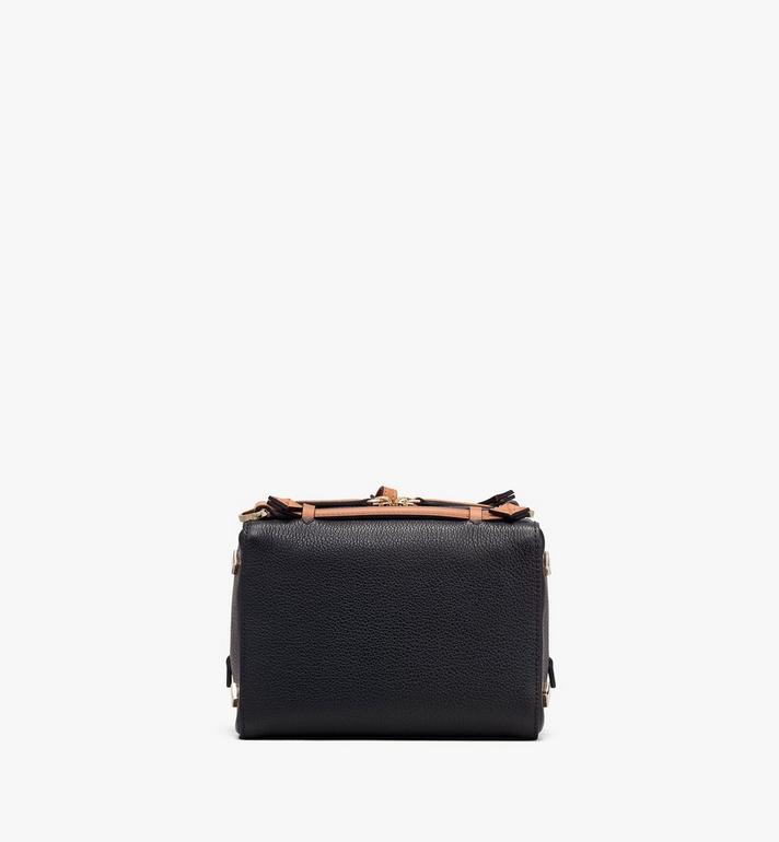 MCM Milano Boston Bag in Calfskin Leather Black MWB9ADA52BK001 Alternate View 3