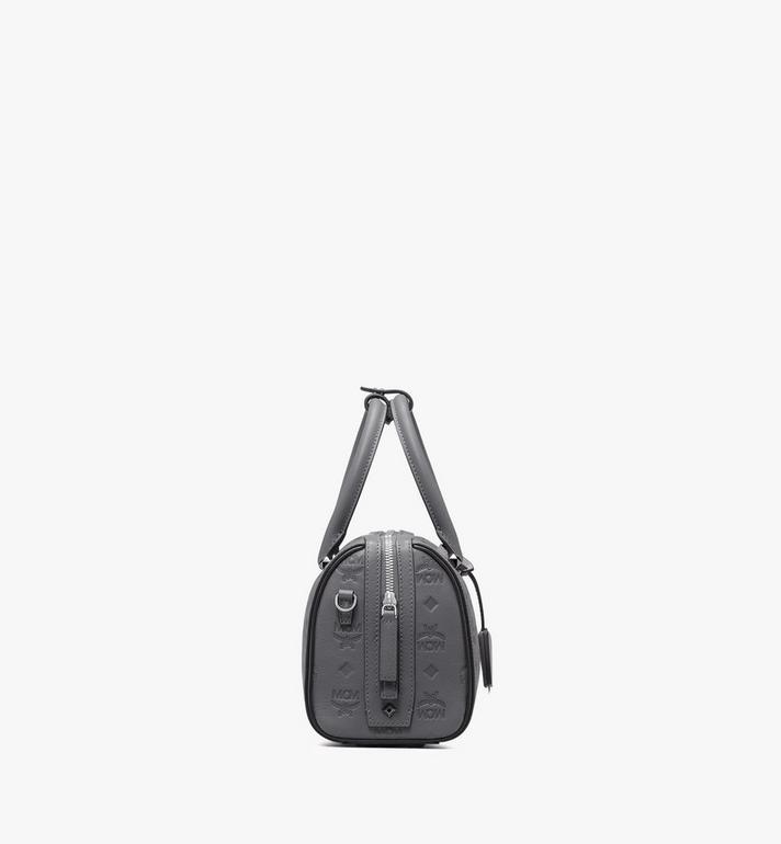 MCM Essential Boston Bag in Monogram Leather Alternate View 2