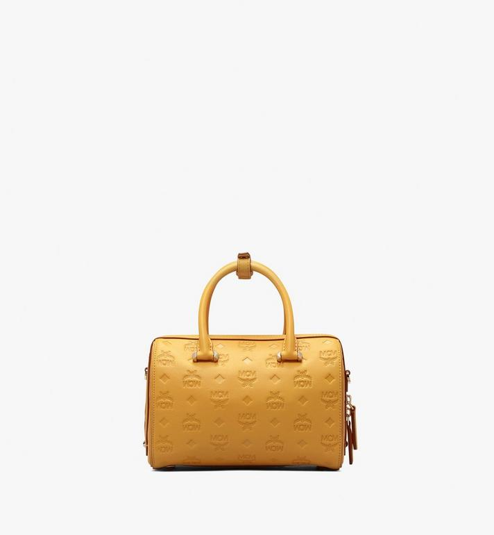 MCM Sac Boston Essential en cuir monogrammé Alternate View 3