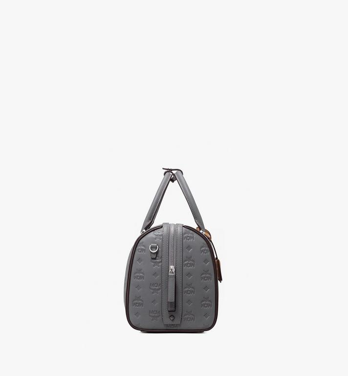 MCM Essential Boston Bag in Monogram Leather Alternate View 2