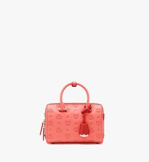 Essential Boston Bag in Monogram Leather