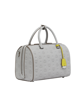 MCM Essential Boston in Monogram Leather AlternateView2