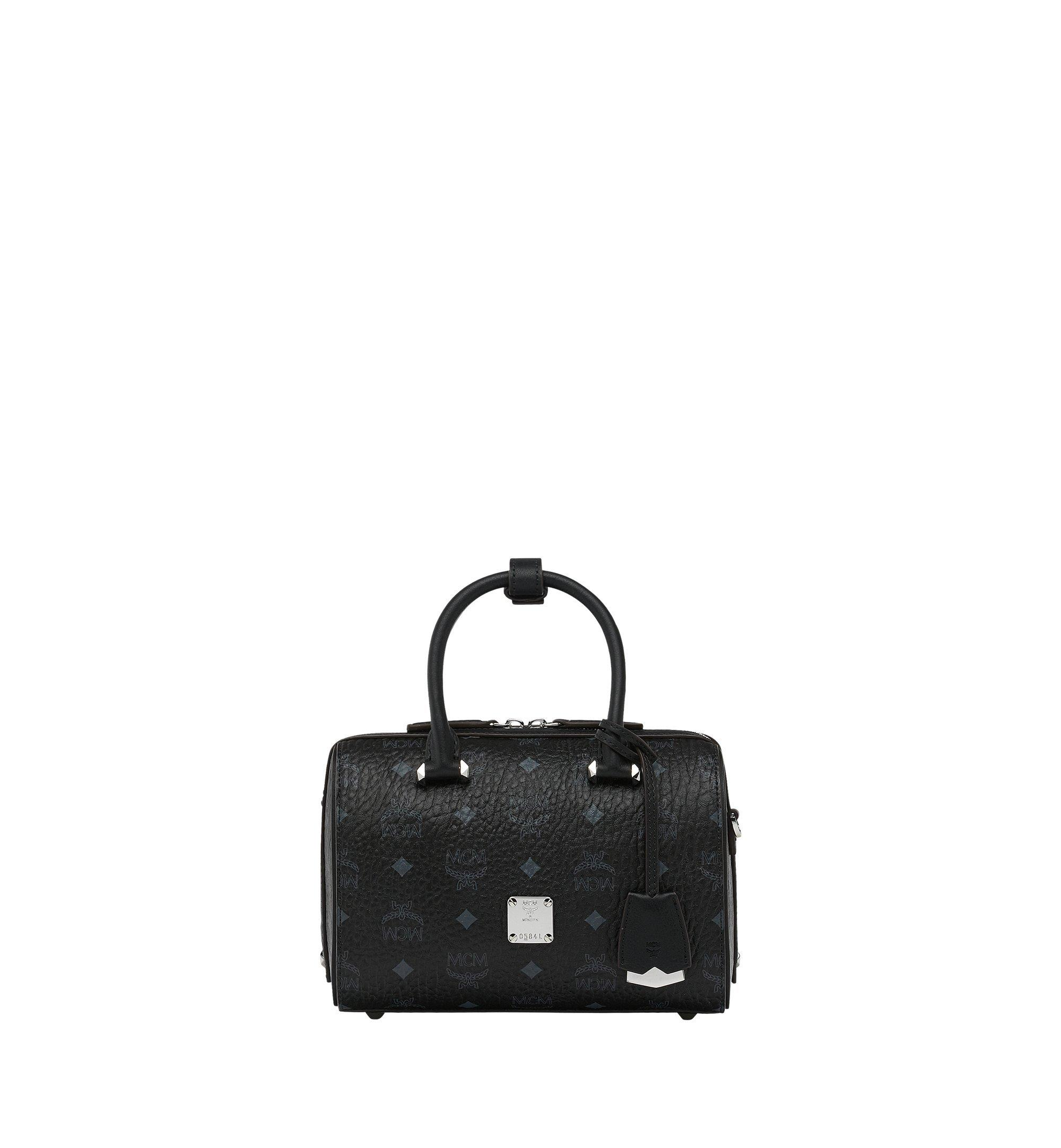 MCM Essential Boston-Tasche in Visetos Black MWB9SSE67BK001 Noch mehr sehen 1