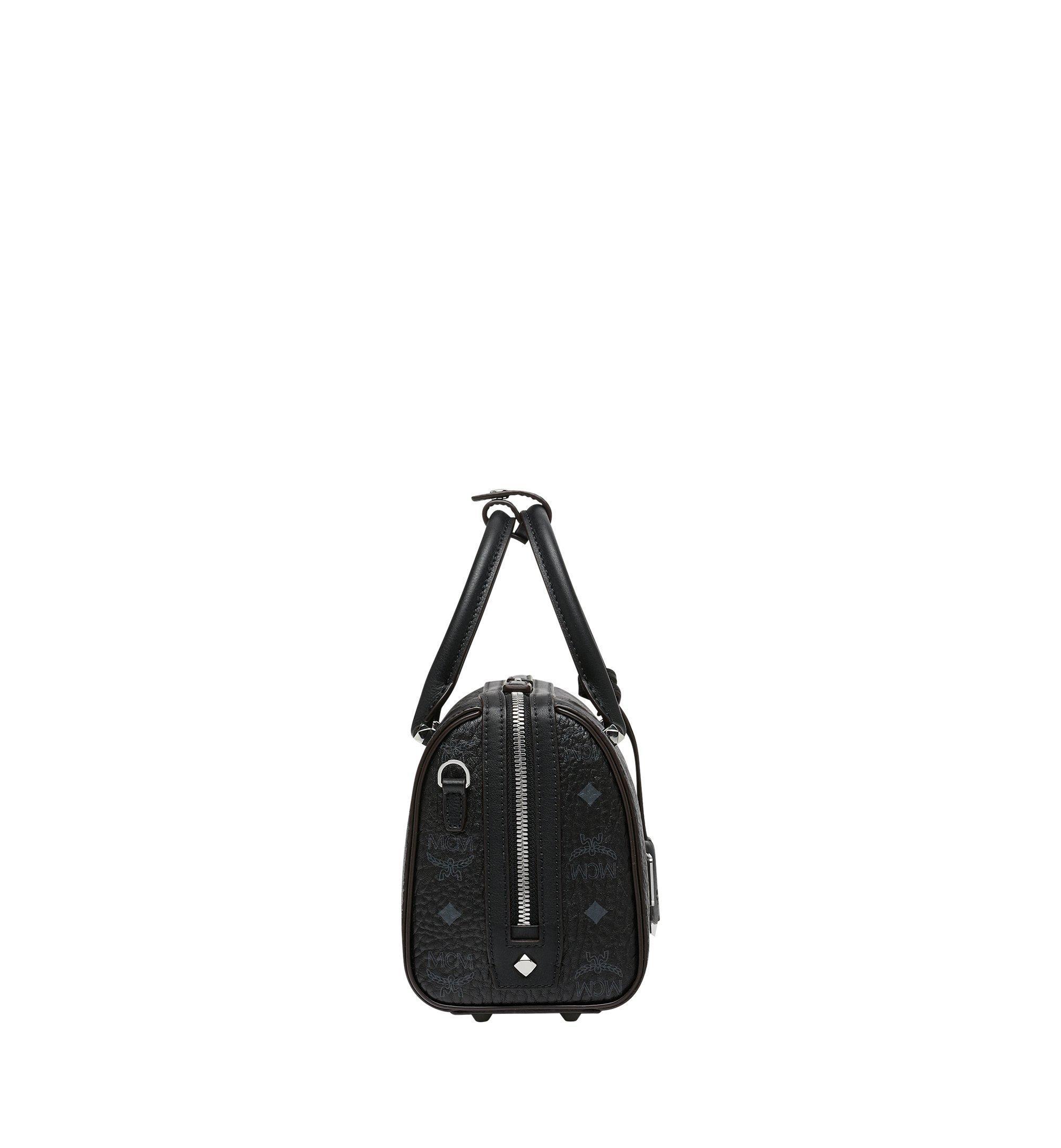 MCM Essential Boston-Tasche in Visetos Black MWB9SSE67BK001 Noch mehr sehen 2
