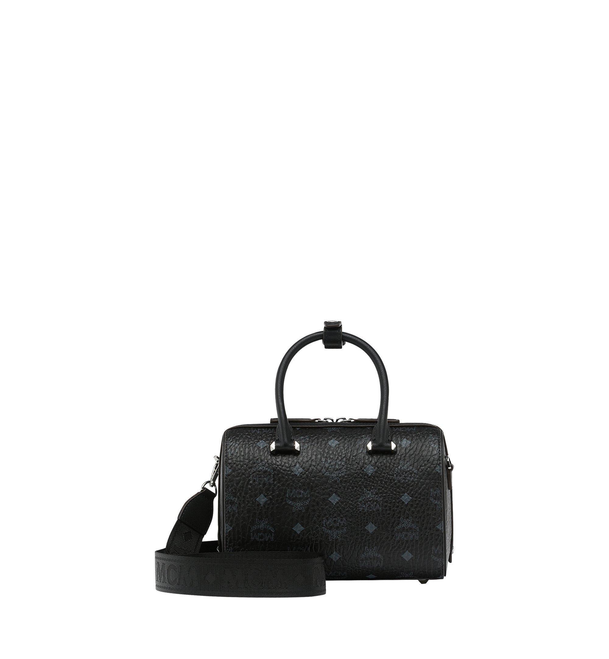 MCM Essential Boston-Tasche in Visetos Black MWB9SSE67BK001 Noch mehr sehen 3