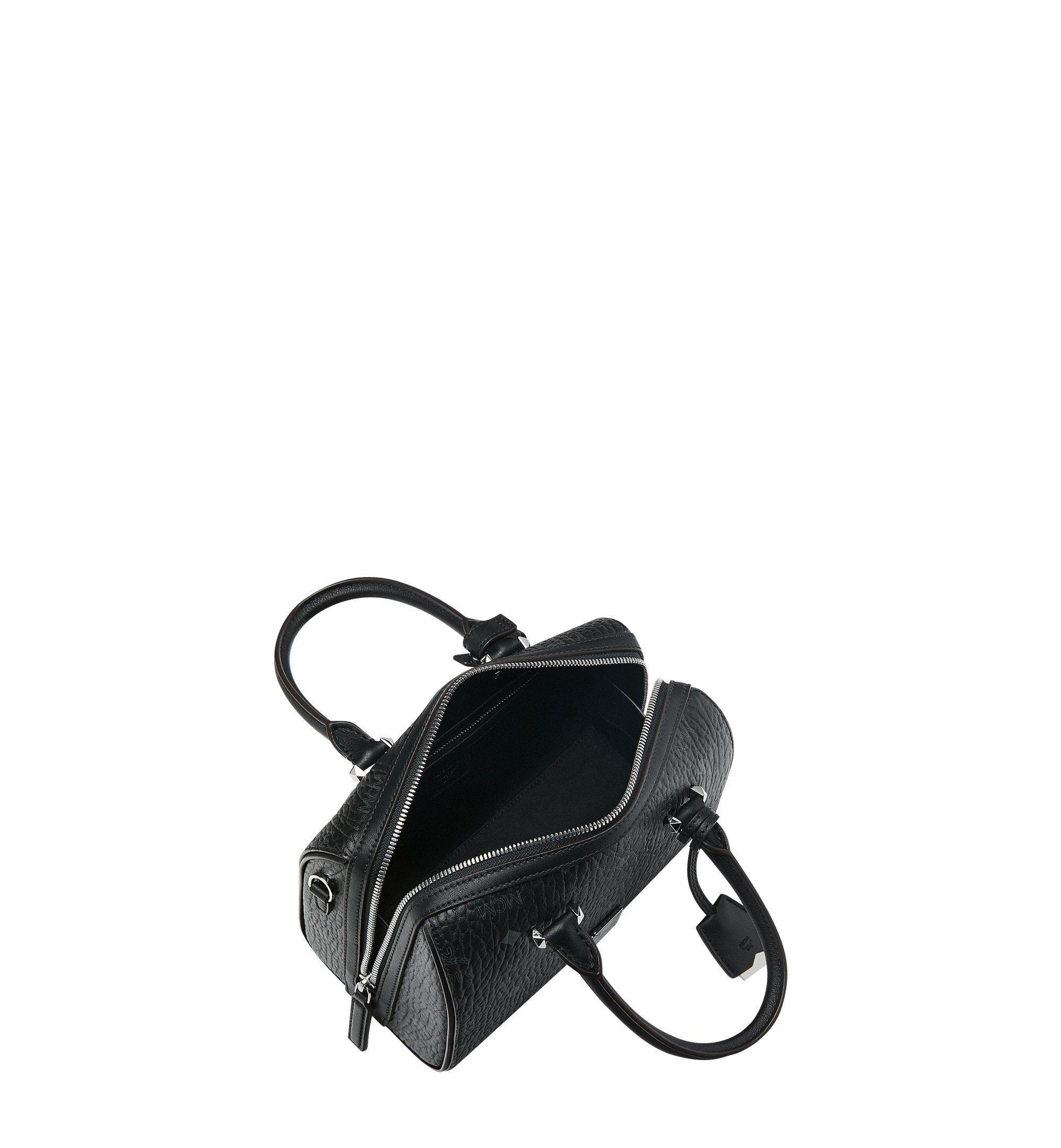 MCM Essential Boston-Tasche in Visetos Black MWB9SSE67BK001 Noch mehr sehen 4