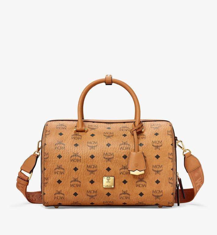 MCM Essential Boston-Tasche  in Visetos Alternate View