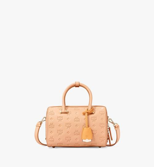 Sac Boston Essential en cuir monogrammé