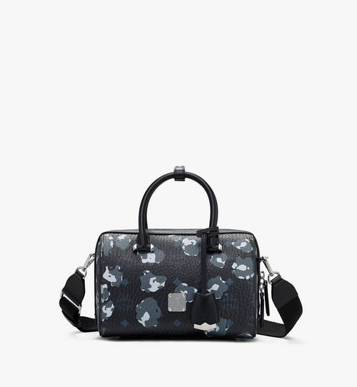 Sac Boston Essential à imprimé léopard floral