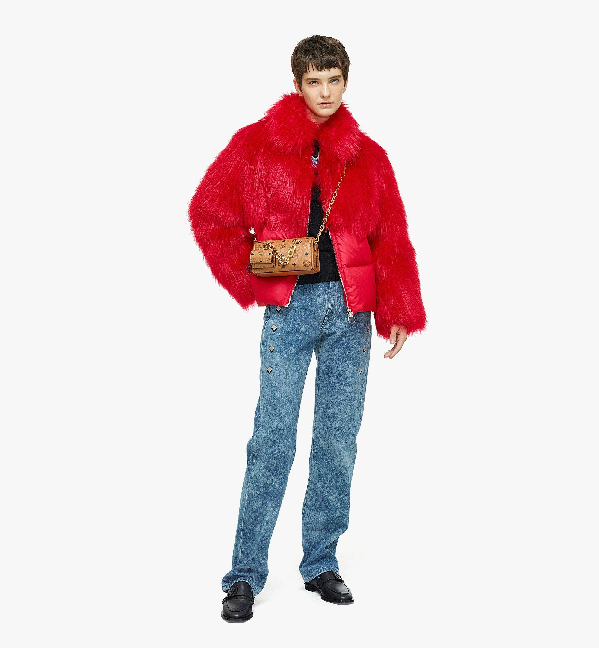 MCM Essential Boston-Tasche mit AirPodsProEtui in VisetosOriginal Cognac MWBBASE01CO001 Noch mehr sehen 2