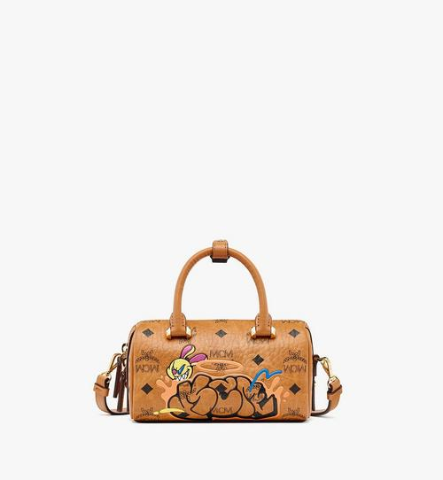 MCM x SAMBYPEN Boston Bag in Visetos
