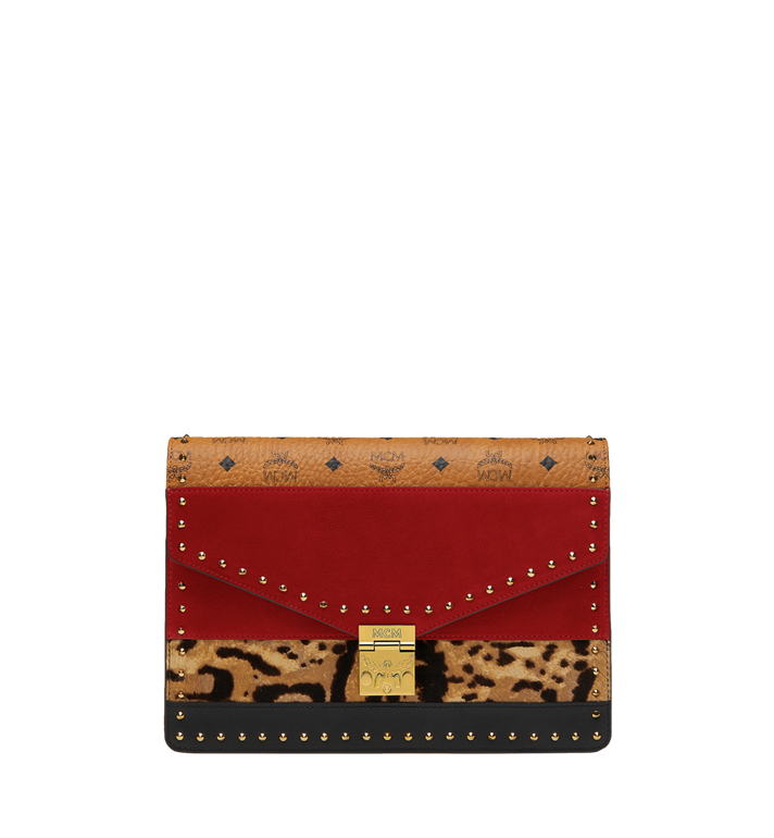 MCM Patricia Clutch in Leopard Combo MWC8APA53RJ001 AlternateView