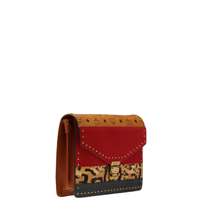 MCM Patricia Clutch in Leopard Combo MWC8APA53RJ001 AlternateView2