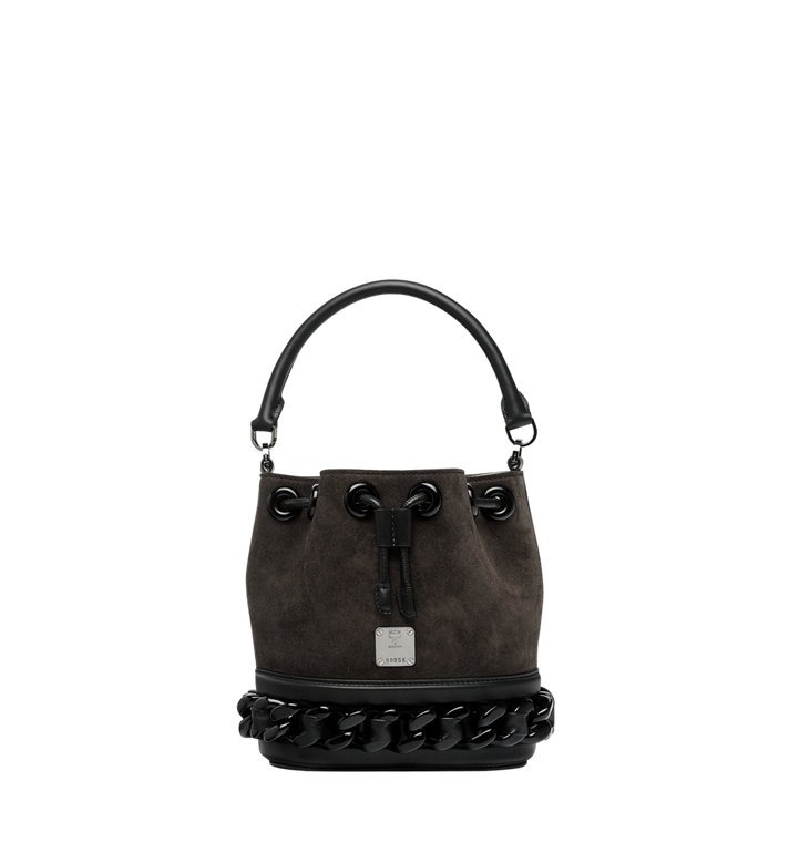MCM Trisha Chain Drawstring in Suede MWD8ATS20EP001 AlternateView