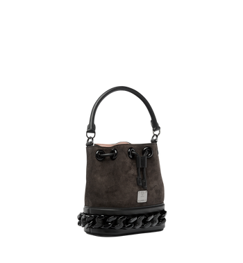 MCM Trisha Chain Drawstring in Suede MWD8ATS20EP001 AlternateView2