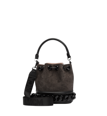 MCM Trisha Chain Drawstring in Suede MWD8ATS20EP001 AlternateView4