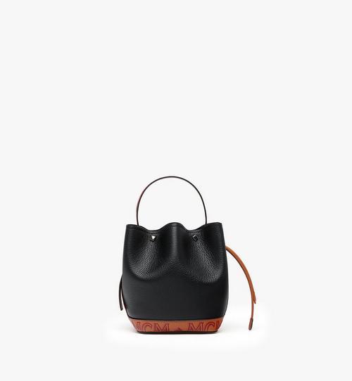 Milano Mini Drawstring Bag in Calfskin Leather