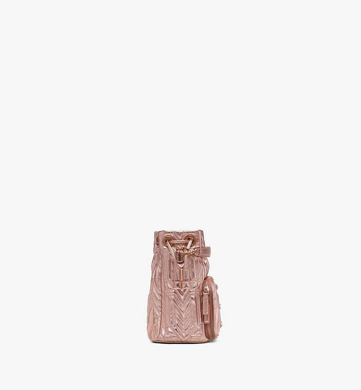 MCM Essential Drawstring in Crystal Quilted M  MWD9ASE50TC001 Alternate View 2