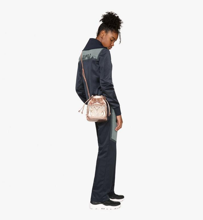 MCM Essential Drawstring in Crystal Quilted M  MWD9ASE50TC001 Alternate View 5