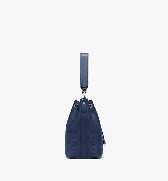 MCM Essential Drawstring in Monogram Leather  MWD9ASE79VA001 Alternate View 2