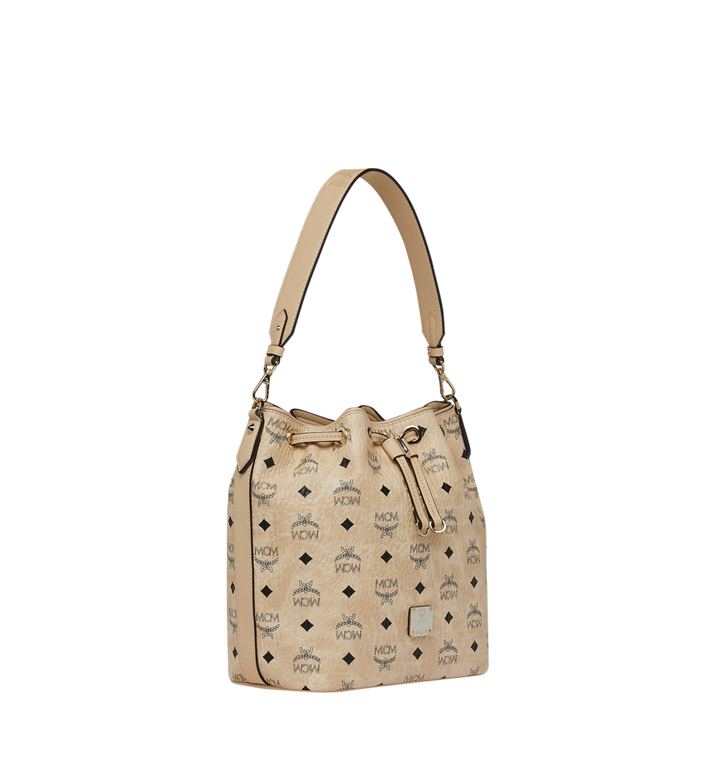 MCM Essential Drawstring in Visetos Alternate View 2