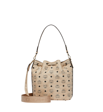 MCM Essential Drawstring in Visetos AlternateView4