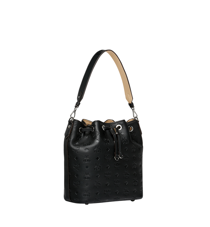 MCM Essential Drawstring in Monogram Leather Alternate View 2
