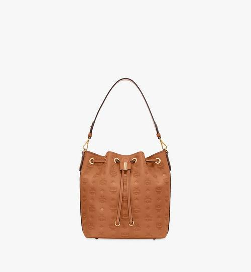 Essential Drawstring Bag in Monogram Leather
