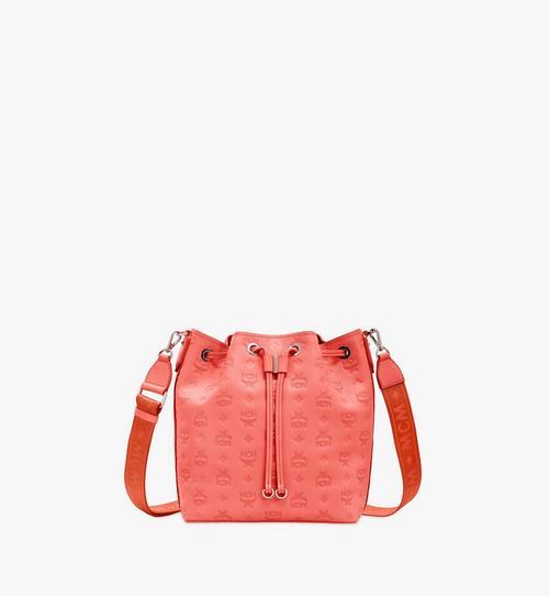 Essential Drawstring Bag in Monogram Leather