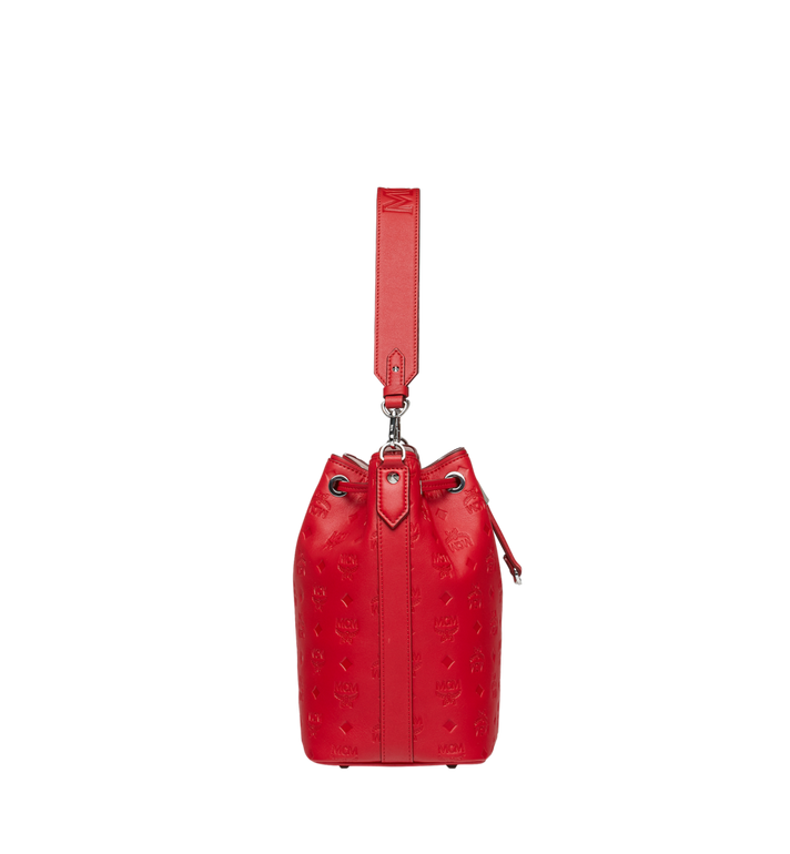 MCM Essential Drawstring in Monogram Leather AlternateView3
