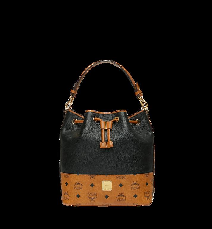 MCM Geonautic Kordelzug-Tasche aus Leder im Colorblock-Design Alternate View