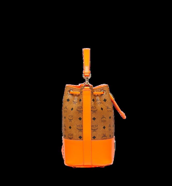 MCM Geonautic Drawstring Bag in Visetos Alternate View 3