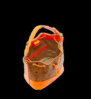 MCM Geonautic Drawstring Bag in Visetos Alternate View 5