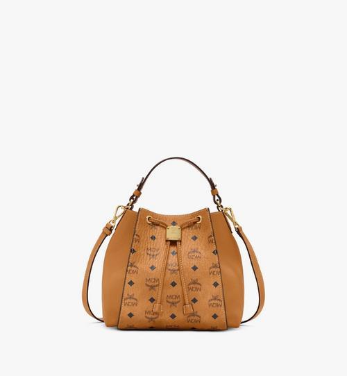 Luisa Drawstring Bag in Visetos Leather Block