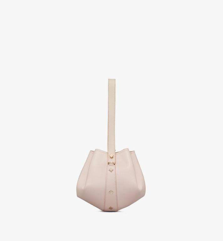 MCM Candy Drawstring Bag in Nappa Leather Pink MWDASCY03IH001 Alternate View 2