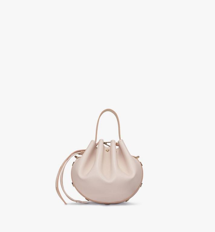 MCM Candy Drawstring Bag in Nappa Leather Pink MWDASCY03IH001 Alternate View 3