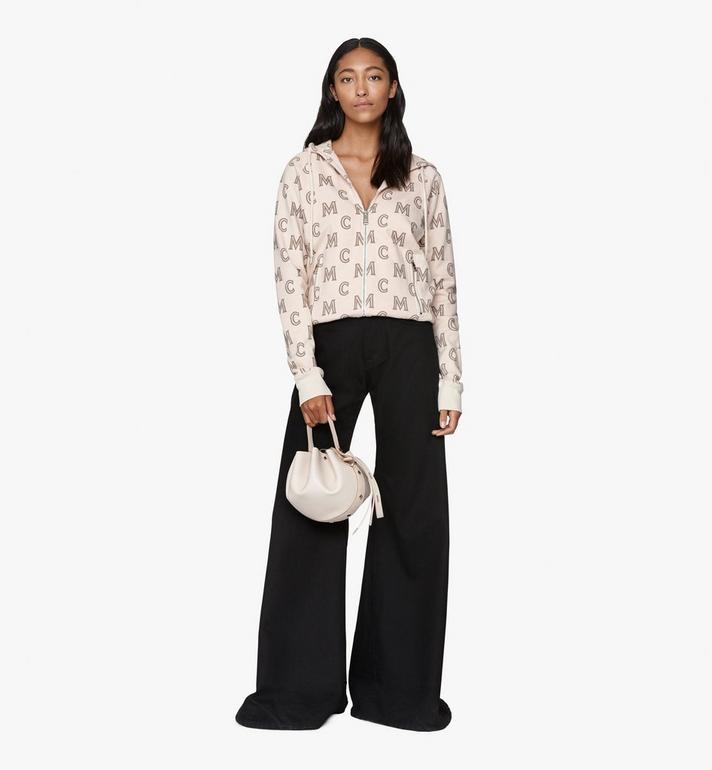 MCM Candy Drawstring Bag in Nappa Leather Pink MWDASCY03IH001 Alternate View 5