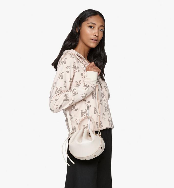 MCM Candy Drawstring Bag in Nappa Leather Pink MWDASCY03IH001 Alternate View 6